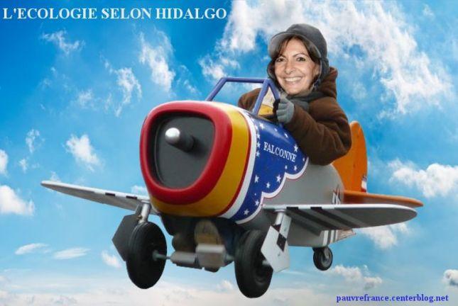 Le dessin du jour (humour en images) - Page 27 Anne-Hidalgo-Falcon