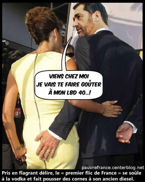 Paris Brûle-t-il ?  Castaner_bourre_le_Noto