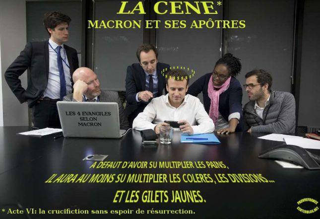 Le dessin du jour (humour en images) - Page 22 La_cene_de_macron_et_ses_apotres