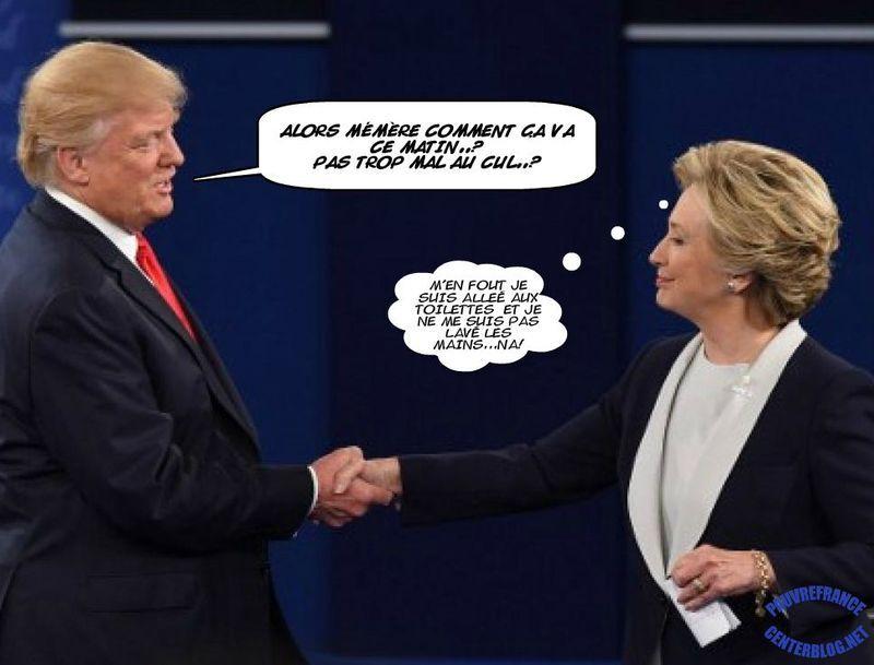 Trump clinton gagnant