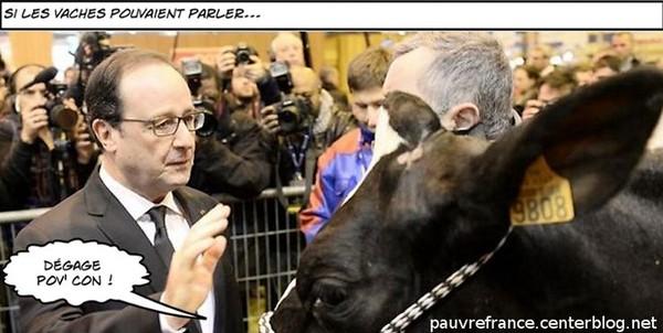 Hollande au salon de l 39 agriculture for Hollande salon agriculture