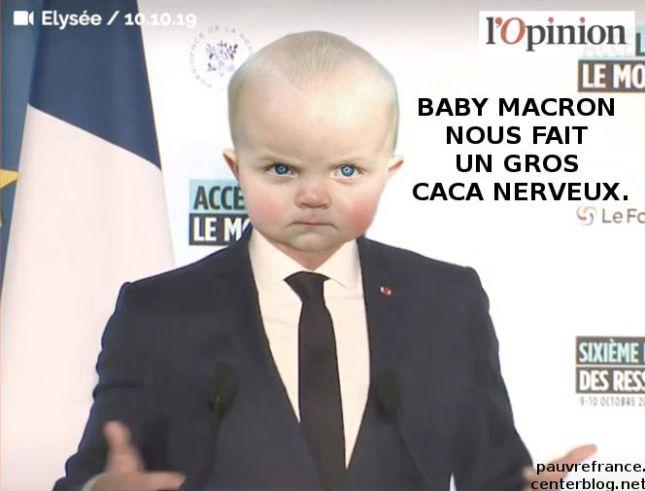 Le dessin du jour (humour en images) - Page 28 Macron_baby