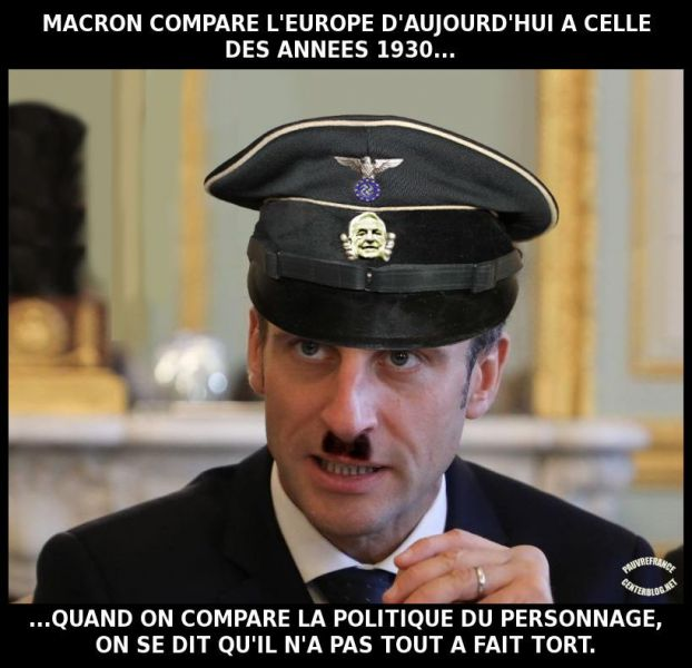 Le dessin du jour (humour en images) - Page 20 Macron_chef_de_la_propagande_europeenne_.