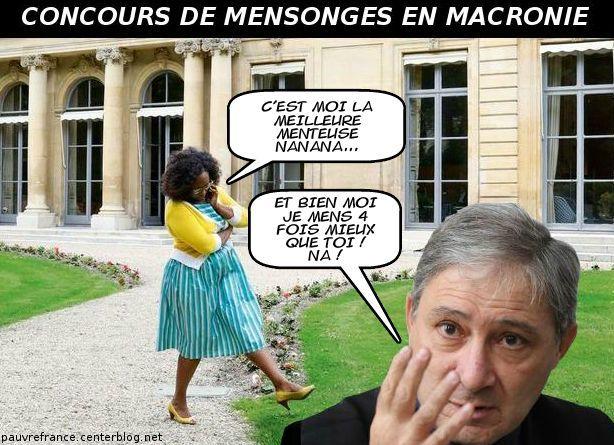 Le dessin du jour (humour en images) - Page 27 Macron_mensonges_1